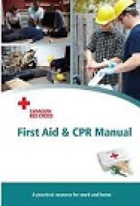 Canadian Red Cross First Aid Course Book