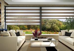 Customer made roller bind zebra blinds