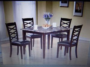 Dining Sets All New 5 and 7 Pce Sets. TAX INCL>Call