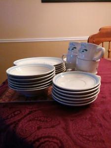 Dish set 30 piece