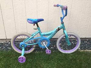 Disney Frozen bike w/ training wheels