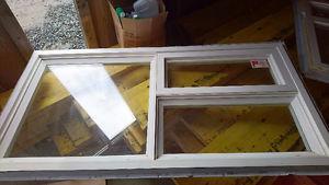 Double glazed vinyl window...
