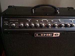 Fender Stratocaster / Line 6 Spider IV 75