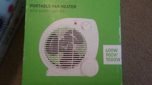 For sale: Portable Fan Heater $10 (or best offer)