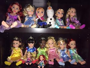 Full Collection of Disney Princess Dolls