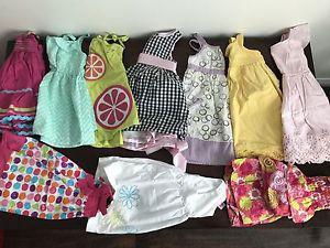 Girls  months summer lot