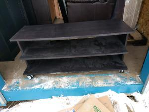 Ikea TV stand - black brown colour