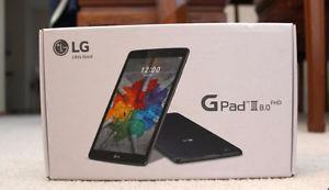 LG GPad III GB LTE Tablet(Indigo Black)-Brand New In