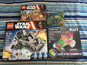 Lego Sets All New Star Wars and others