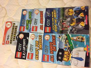 Lego city book set