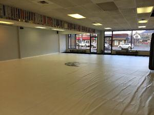 Mat room available