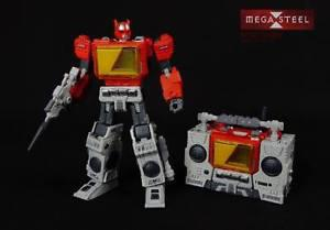 Mega Steel MS-03 Buster (Transformers Blaster) New in Box
