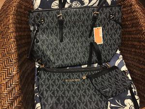 Michael Kors 3 piece purse Set