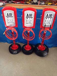 Old Fashion Air Pump Meter Replicas
