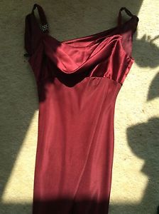 Ruby red gown