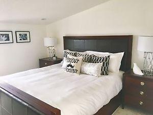 Shermag Solid Wood King Bedroom Set