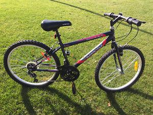 "Supercycle mountain bike, 24"" wheels"