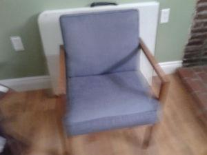 Two chairs for sale. both in good condition.