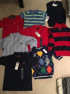 Various brand new Chaps boys' clothing