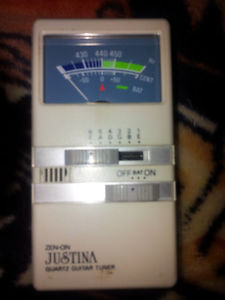 best offer a guitar tuner for sale NEED SOLD