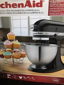 kitchen aid stand mixer (tilt head)
