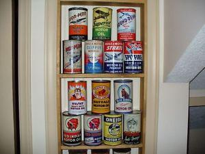wanted paying $$$ for motor oil tin can red indian white