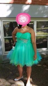1 prom and 1 grad dress