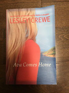 Ava Comes Home. Written by Lesley Crewe.