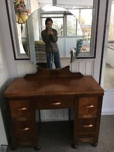 Bedroom Suite (Vanity, Bed Frame, Dresser)