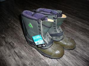 Brand New Sorel Premium Waterproof Steel Toes Work Boots