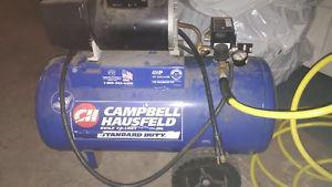 Campbell Hausfeld 4 HP 13 Gallon Air Compressor plus 50'