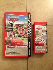 Disney Cars checkers and dominos