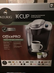Kuerig Office Pro with bonus K cup trial pack