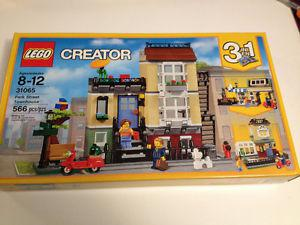 Lego Creator 3in1 Park Street Townhouse  New Sealed