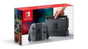 Nintendo Switch System & Zelda Breath of the Wild Game (New)