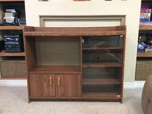 TV stand unit wooden