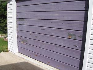 Wanted: Wanted to Buy ONEPIECE Steel GARAGE DOOR THAT TILTS