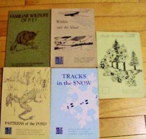 5 PEI DEPARTMENT OF THE ENVIRONMENT BOOKS PLANTS, FISH,
