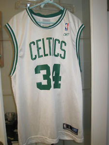 AUTHENTIC PAUL PIERCE BOSTON CELTICS REEBOK JERSEY