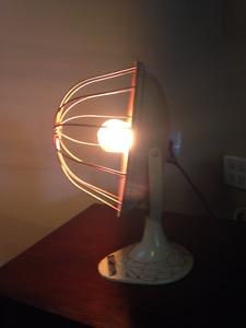 Art Deco Repurposed Heat Lamp