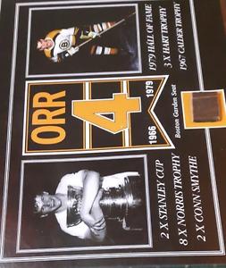 Bobby Orr  Boston Garden seat hockey picture
