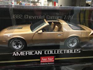 Chevrolet Camaro Z28 Diecast Cars by Sun Star--new--
