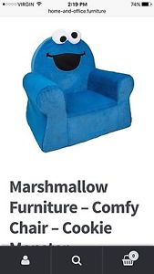 Cookie Monster comfy chair