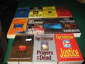 Faye Kellerman books $1 each or $10 for the lot