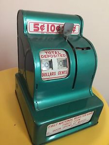 First National Coin counter