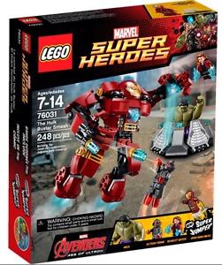 LEGO MARVEL SUPERHEROES HULK BUSTER SMASH SET IRON MAN HOT