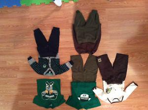 Large bag of baby boy clothes sizes 3m to 12m