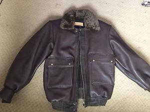 Leather Loft Large Leather Jacket - Made in Canada