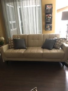 Leather couch and Loveseat Set $950. for the set
