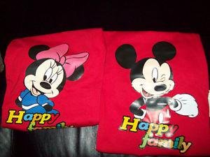 Mickey Mouse/ Minnie Mouse T-shirts